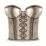 Metal Clasp 3&#39;&#39; Nicky Epstein Bustier