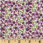 0270932 Jonquil Shirting Ditzy Floral Purple/Green