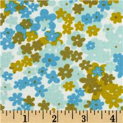 Love Grows Small Floral Blue/Olive