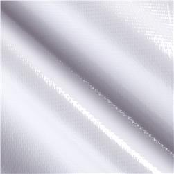 Oil Cloth Solid White