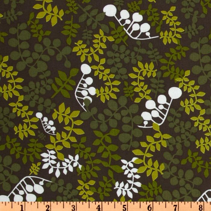 Outfoxed Foliage Brown/Green