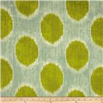 Braemore Dots Are Hot Ikat Grass