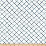 Moda Seascapes Nautical Trellis Navy