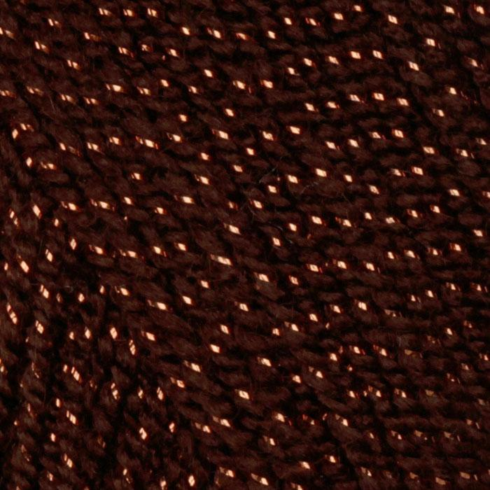 Lion Brand Vanna&#39;s Glamour Yarn (134) Copper