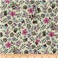 Liberty Of London Tana Lawn Edenham White/Purple
