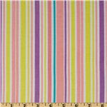 FK-173 A Happy Rainy Day Stripe Pink