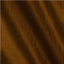 Soiree Stretch Taffeta Iridescent Rust