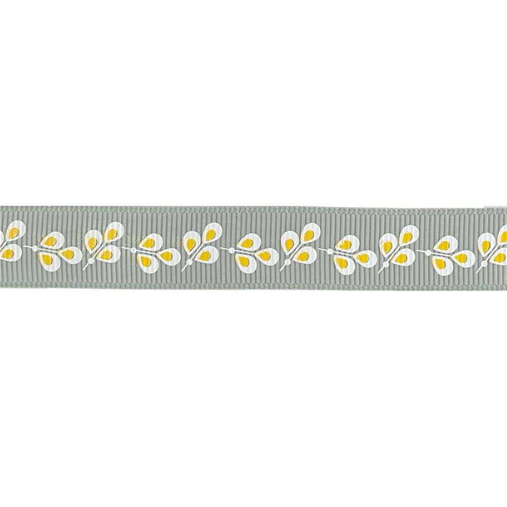 "Riley Blake 5/8"" Grosgrain Ribbon Willow"