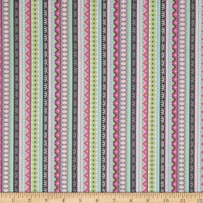 Silk Road Stripe Pink