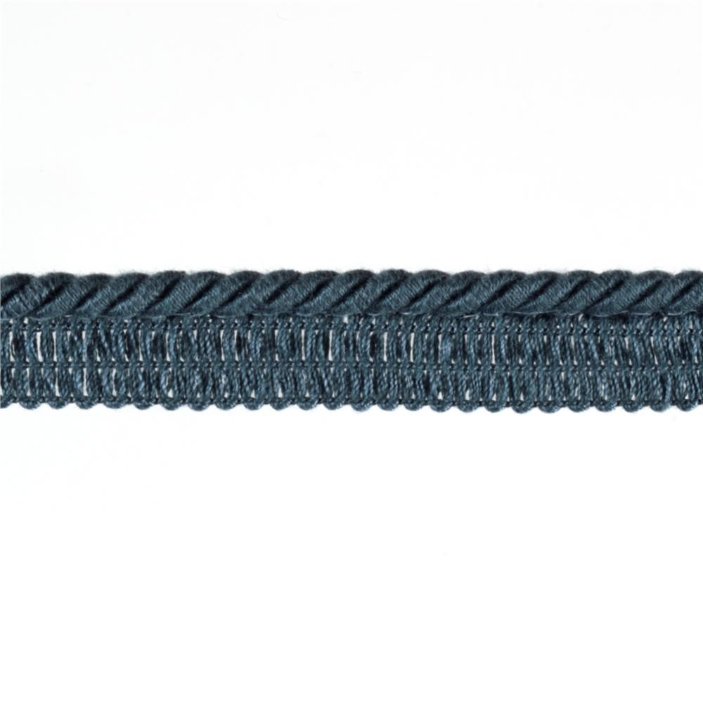 "Duralee 1/4"" Lip Cord Lake Blue"