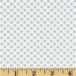 Dots Right Sequin Dot White/Grey
