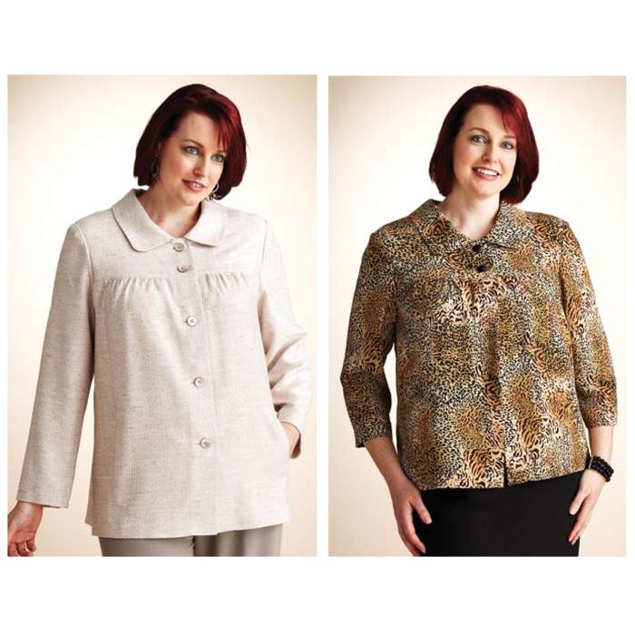 Kwik Sew Women&#39;s Classic Jackets Plus Size Pattern