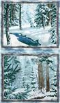 FT-737 Whispering Winter Double Panel Multi
