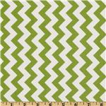 FT-369 Riley Blake Chevron Small Green