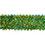 "HDDR-1379 1 1/2"" Stretch Starlight Sequin Trim Lime"
