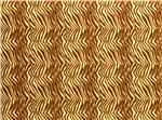 Printz Felt 9'' x 12'' Craft Cut Brown Zebra