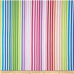 0283258 Manhattan Modern Neon Stripe White