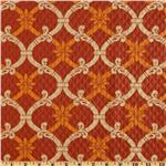 UN-899 Waverly Sun N Shade Quilted Heat Wave Mango