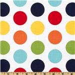 Riley Blake Dots Large Rainbow