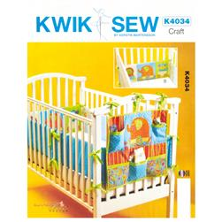 Kwik Sew Organizer and Crib Bumper Pattern