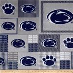 ET-349 Collegiate Fleece Penn State University Blocks