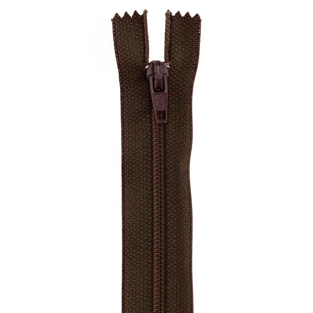 14&#39;&#39; Poly All Purpose Zipper Cloister Brown