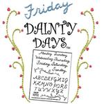 Sublime Stitching Dainty Days Embroidery Transfer