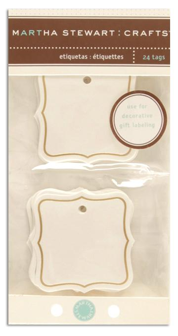 Martha Stewart Crafts Tags Flourish