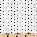 0292619 Jet Setter Small Dot White/Black