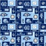 BN-679 Collegiate Fleece University of North Carolina Blocks
