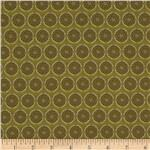 0268122 Textile Creations Indoor/Outdoor Global Circular Mint Chip