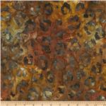 0273782 Artisan Batiks: Kalahari 3 Dots and Spots Earth