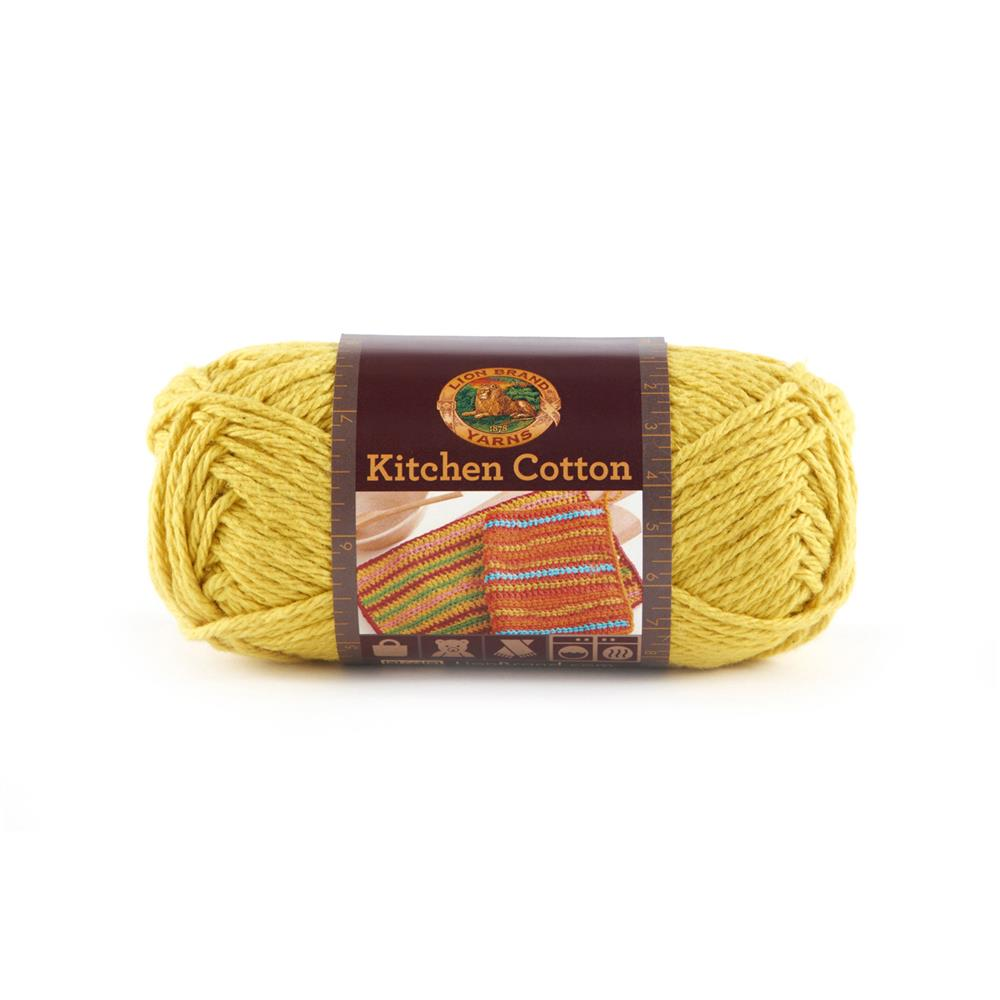 Lion Brand Kitchen Cotton Yarn (157) Citrus