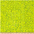 Moda Simple Marks Summer Furrows Acid Yellow