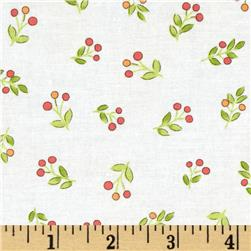 Timeless Treasures Emma Mini Floral Toss Ivory