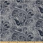 Premier Prints Paisley Blue