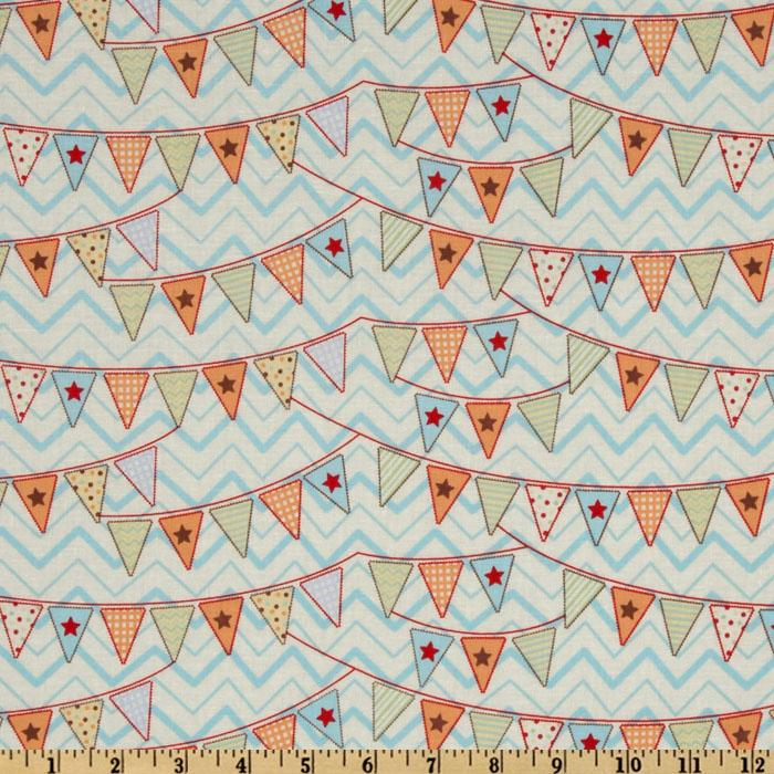 Circus Day Circus Flags Multi