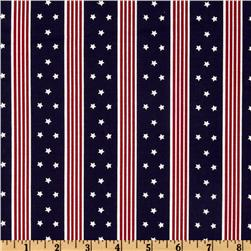 Patriotic Stars & Stripes Blue