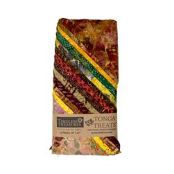Tonga Batik Harvest Treat Stacked Fat Quarter Assortment