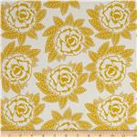 0271777 Riley Blake Indie Chic Large Floral Yellow