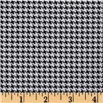 Designer Essentials Designer Houndstooth Black
