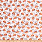 Moda Cuzco Embroidery Tangerine