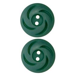 Fashion Button 3/4'' Jordan Teal