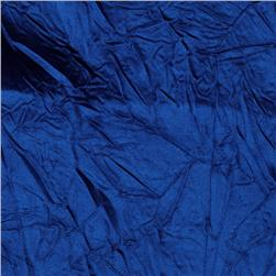 Crushed Charmeuse Satin Royal