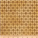 Urban Cosmos Damask Brown