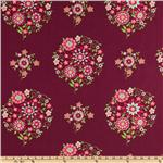 Amy Butler Love Memento Burgundy