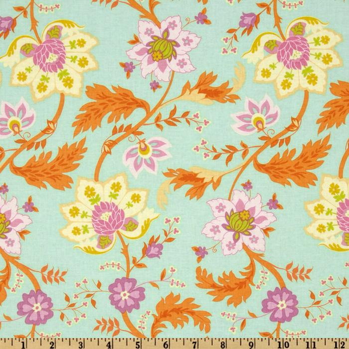 Spring Promise Tapestry Green
