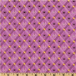 Legend of Webb Hill Diagonal Spider Stripe Purple