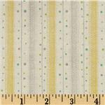 0262741 Baby Business Dots N Twill Yellow/Grey