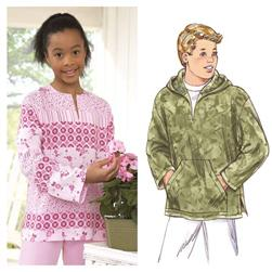 Kwik Sew Unisex Childrens' Tops Patterns